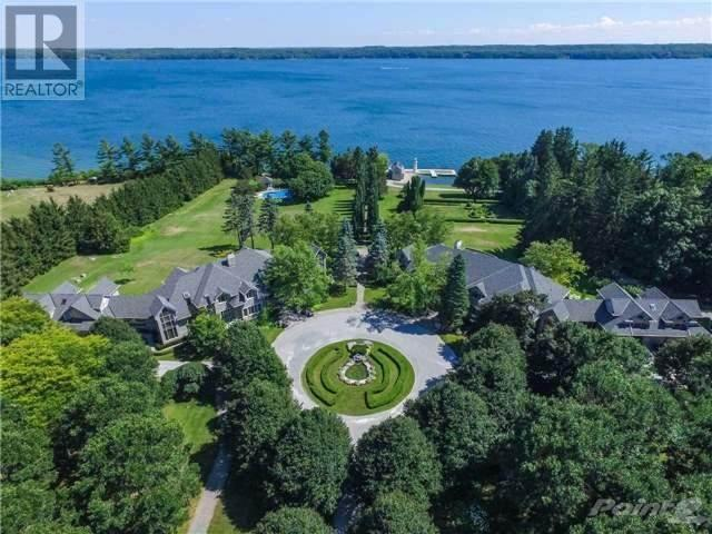 "<p>No. 4: 2615 Ridge Road West, Oro-Medonte<br> Price: $19,500,000<br> (<a href=""https://www.point2homes.com/CA/Home-For-Sale/ON/Oro-Medonte/2615-RIDGE-Road-West/37432151.html"" rel=""nofollow noopener"" target=""_blank"" data-ylk=""slk:Point2Homes"" class=""link rapid-noclick-resp"">Point2Homes</a>) </p>"
