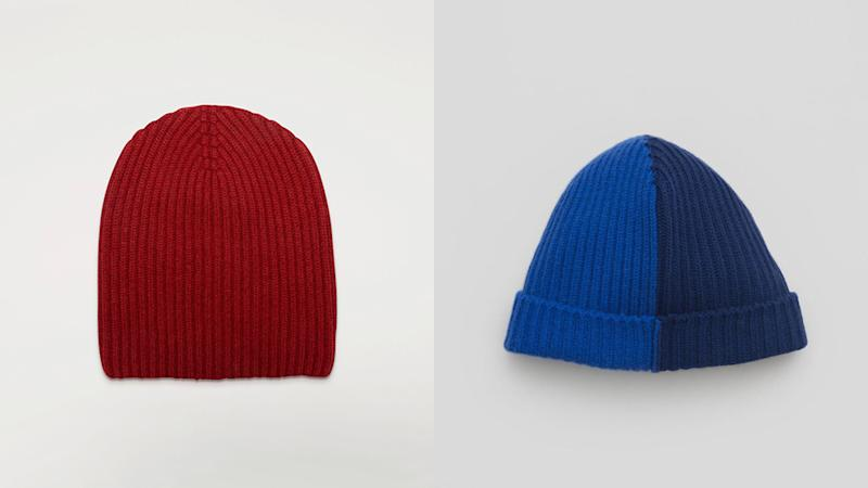 Begg & Co.'s first line of knitwear includes two styles of beanies.