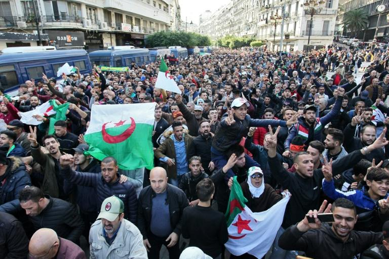 Algerian protesters want the total dismantling of the political establishment