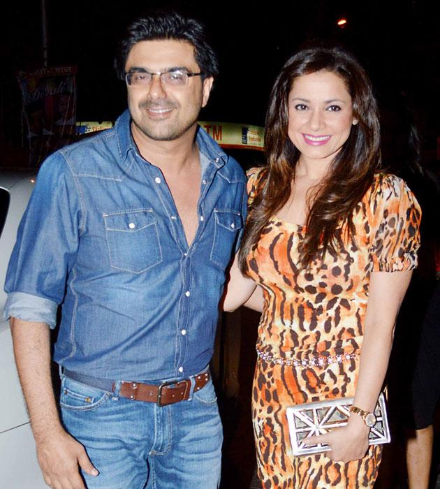 Neelam and her husband Samir Soni