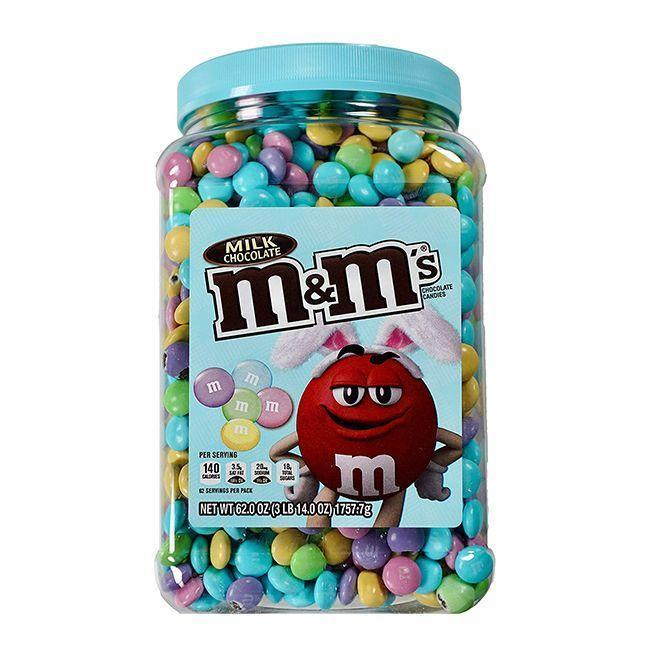 """<p><strong>M&M'S</strong></p><p>amazon.com</p><p><strong>$27.16</strong></p><p><a href=""""https://www.amazon.com/dp/B07MC9GZP1?tag=syn-yahoo-20&ascsubtag=%5Bartid%7C10070.g.2201%5Bsrc%7Cyahoo-us"""" rel=""""nofollow noopener"""" target=""""_blank"""" data-ylk=""""slk:Shop Now"""" class=""""link rapid-noclick-resp"""">Shop Now</a></p><p>You can never go wrong with M&Ms, and even more so when they come in gorgeous pastel colors like these. </p>"""