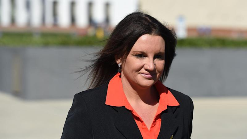 Independent Jacqui Lambie has become the first casualty of a marathon debate in the Senate.