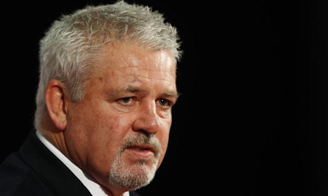"""<span class=""""element-image__caption"""">Warren Gatland has selected an expanded squad of 41 for a tour that will test the Lions to the limit.</span> <span class=""""element-image__credit"""">Photograph: David Rogers/Getty Images</span>"""