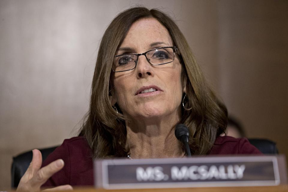 Arizona Senator (R-AZ) Martha McSally said she was raped by a superior while serving in the Air Force. (Photo: Getty Images)