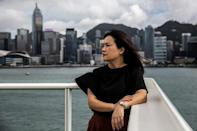 Hong Kong activist Carol Ng received menacing calls from strangers and was bombarded with messages after her personal phone number was posted on a website called HK Leaks