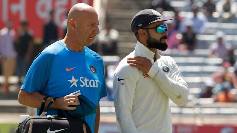 Watch: Virat Kohli Injures His Shoulder While Fielding