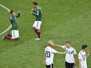 "Several Mexican players, including Javier Hernandez, were in tears after the final whistle. The exuberant Mexican fans caused what is believed to be a minor earthquake. Germany crashed to their first loss in a World Cup opener since 1982 as Mexico pulled off a shock 1-0 win. AFP One-nil read the scoreboard after 90 minutes. A stunner from Hirving Lozano set off such a commotion that seismic detectors in Mexico City registered a false earthquake, which the geological institute said may have been generated by 'massive jumps' across the city. Oh, and that led to chaos in the German camp. To an extent where Germany had six attackers and three defenders on the pitch in the dying stages of the match, while fit-again Manuel Neuer looked set to channelise his inner Peter Schmeichel in the opposition half. A German side was running out of options. Panicked. A rare sight. Contrary to the urgency shown by the four-time winners in the second half, the defending champions were stuttered in the first 45 minutes. Joachim Loew fielded four forwards upfront, leaving ample space for Mexican midfielders in the center of the park. Sami Khedira, who is tipped to fill the void left by Bastian Schweinsteiger, couldn't adjust to the pace of Hector Herrera and Andres Guardado in a two-man midfield. The Mexican duo combined brilliantly to leave Toni Kroos, the midfield industry, dumbfounded. The Germans were so disoriented that with 14 minutes gone, Hector Moreno was offered ample space to head the opener from a free-kick. Yes, we are talking about the German defence, which was under constant pressure from the hungry Mexican players. Kroos and Khedira chased the ball like school kids as Mexican players ran past them with a succession of quick, counter-attacking blows. The duo failed to provide protection to the central defenders — Jerome Boateng and Mats Hummels, who didn't seem pleased with the shape of the team. Boateng's build-up to the World Cup was hampered by a groin injury, and the Bayern Munich centre-back found himself exposed often as Mexico's speed was a constant threat on the counter-attack. Mexico found acres of space to counter-attack through the midfield and as a result, Lozano steamrolled past the German defence to set the Luzhinki Stadium on fire. With Mesut Ozil, Julian Draxler, Thomas Muller and Timo Werner all upfront, the attackers had very little time to support the midfield. Ozil and Draxler didn't contribute defensively after losing possession in the opposition half. Low's 4-2-3-1 looked out of place and creaky, with fox-in-the-box Muller spaced out on the right. The Mexican wingers often switched the flanks, depending on the space up front. To be precise, right from the first minute of the game, El Tri looked threatening with the ball and off it. They had a different setup that demanded high-pressing in their own half and break as quickly as possible. Ahead of the match, Mexico coach Juan Carlos Osorio said that his side was ready to upset four-time winners Germany, provided they realise that the clash is just another football match. It was a fearless performance from the El Tri which executed the game plan Osorio set out for them. After a rather bleak first half, Germany did try to equalise. They tried. There were flashes of brilliance from Draxler and Werner after the restart but Guillermo Ochoa denied the Nationalmannschaft from drawing level. As far as creativity is concerned, Ozil's absent-mindedness as No 10, something he's been guilty of doing that at Arsenal, made things worse for Loew. The 57-year-old manager replaced Khedira with Marco Reus to bring the best out of Ozil and inject more pace through the flanks. In reply to that, Osario introduced former Barcelona man Rafael Marquez, who played in his fifth World Cup aged 39, to add robustness at the back. Jose Mourinho would be smiling with pride after watching the Mexicans sit deep as they formed a 'Mexican wall' to stop the Germans from attacking, literally. However, the game was won in the midfield.Héctor Herrera's first half by numbers vs. #GER: 100% take-ons completed 80% tackles won 31 touches 6 take-ons 5 tackles 1 shot 1 interception Superb midfield display.  pic.twitter.com/WzDL4UNnIi — Squawka Football (@Squawka) June 17, 2018Although Lozano's strike was enough to tame the Germans, Herrera deserves to be given the credit for what Mexico were able to accomplish. No Mexican player finished with more accurate passes or tackles than the FC Porto man. In fact, it was his intervention that led to Lozano's goal in the first half. The 28-year-old had what Kroos' midfield partner at Real Madrid Luka Modric has — energetic presence. Carlos Vela dropped deep on the break, which allowed Herrera to spread and spray passes forward, leaving the German midfield disoriented. Where was the German midfield? A legit question. Defensive blunders Fault lines in Germany's defence have been visible in recent games and Sunday's 1-0 World Cup defeat to Mexico should not really be seen as a surprise. Low's eleven were exposed by Mexico's counter-attacking, and had the Mexicans been more accurate in their final third, they would not have had to worry about Germany's attack after the 88th minute. Boateng, all on his own, could not snuff out the danger during the crucial break and Hummels was out of position. After the result, center-back Hummels said Germany had ignored the warnings from their shaky 2-1 win over Saudi Arabia in their final warm-up game. This wasn't a wake-up call, but the outcome of letting their opponents come all guns blazing. Which means that the problems first surfaced a couple of weeks before the tournament in Russia. ""I don't quite understand we played the way we did today, because we had already had a shot across our bow (against Saudi Arabia). Our cover wasn't good, too often it was just Jerome (Boateng) and I at the back."" Marvin Plattenhardt replaced the ill Jonas Hector and was caught napping in the wide areas, while right-back Joshua Kimmich was failed to cover the ground after venturing forward. ""It's pretty simple: we played like we did against Saudi Arabia, but this time it was against a better opponent,"" fumed the Bayern Munich defender. Kroos, who like Hummels was part of the team that won the 2014 World Cup, said Germany paid the price for failing to stem the waves of Mexican first-half attacks. ""We did not find any solutions to their game in the first half,"" the Real Madrid player told German broadcaster ZDF. ""They were clever and left room where they could afford to. In the second half, we were better, Mexico got tired, but we did not score, although there were enough chances for at least one,"" he added. The German attackers didn't make most of their opportunities and often failed to find angles to cut in. Moreover, Ochoa made nine saves but most of the shots were straight at him. Maybe it's time for Loew to take a leaf out of the successful 2014 campaign, where he adhered to a more conservative plan. Fielding a two-man midfield was nothing but suicidal when your team relies on a passing game. Clearly, Loew got his tactics wrong and Mexico deserved all the three points along with the plaudits. Draw for Spain, Argentina, Portugal, Brazil and a narrow loss for defending champions Germany. Is this a special edition in the making? Click here for full coverage of FIFA World Cup 2018 Click here to view the full schedule of FIFA World Cup 2018 Click here to view the points table of FIFA World Cup 2018"