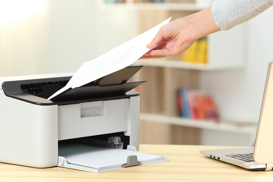Employees who Work From Home use their own printer and paper, so they will be more economical about it