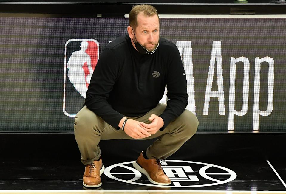 Raptors coach Nick Nurse signed a contract extension in September that makes him one of the league's highest-paid coaches.