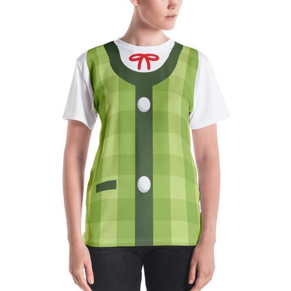 """<h2>Isabelle Shirt</h2><br>This shirt is the epitome of a low-maintenance meets high-efficiency costume. Skip over the tiny details and just throw this all-in-one ensemble on for a quick, easy, and accurate Isabelle Halloween portrayal. <br><br><em>Shop</em> <strong><em><a href=""""https://www.etsy.com/shop/httpkoopa"""" rel=""""nofollow noopener"""" target=""""_blank"""" data-ylk=""""slk:httpkoopa"""" class=""""link rapid-noclick-resp"""">httpkoopa</a></em></strong><br><br><strong>httpkoopa</strong> Isabelle Green Women's T-Shirt, $, available at <a href=""""https://go.skimresources.com/?id=30283X879131&url=https%3A%2F%2Fwww.etsy.com%2Flisting%2F725721176%2Fisabelle-green-animal-crossing-smash%3F"""" rel=""""nofollow noopener"""" target=""""_blank"""" data-ylk=""""slk:Etsy"""" class=""""link rapid-noclick-resp"""">Etsy</a>"""