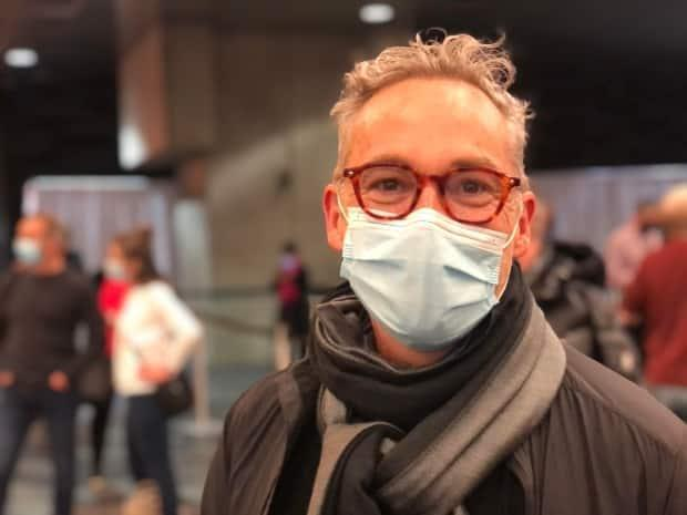 François Longpré jumped at the chance to get vaccinated at one of Montreal's walk-in clinics.