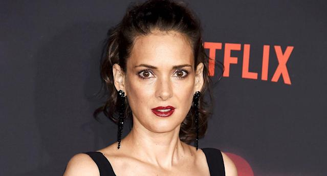 Winona Ryder's latest L'Oréal Paris commercial has left people really confused. (Photo: WireImage)