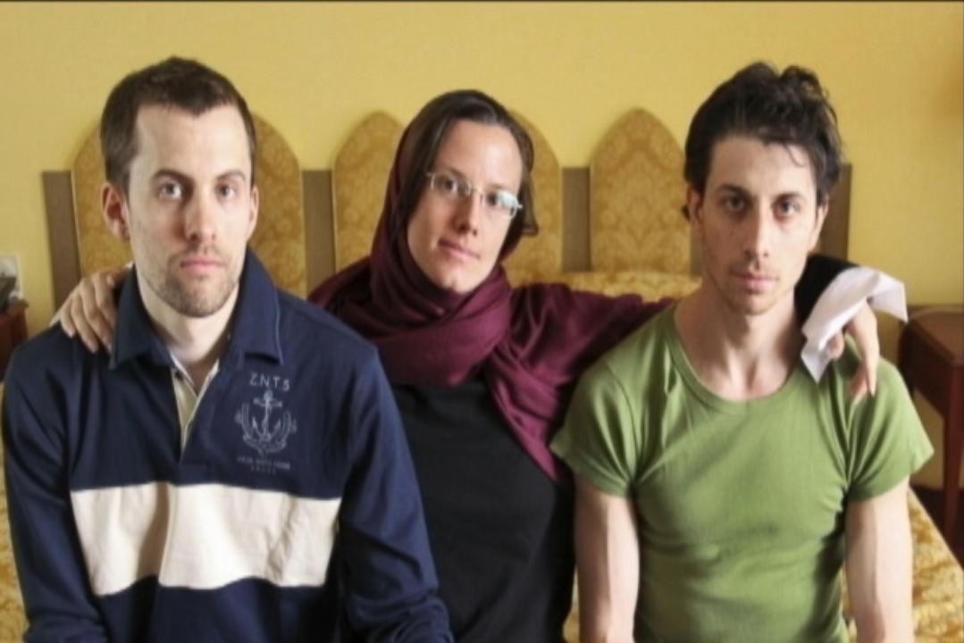 "Josh Fattal, Shane Bauer, and Sarah Shourd discuss their time in Iranian prison in ""Sliver of Light"""