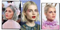 <p>From 1980s style neon pink blusher and clashing red lipstick, to Twiggy-esque cut crease eyeliner and silver glitter eyelashes, we've gathered every one of actress Lucy Boynton's next level make-up looks in one place. </p>