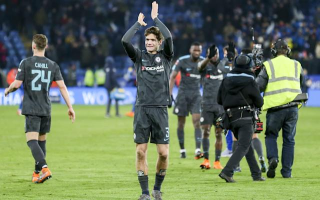 """Antonio Conte wants his Chelsea team to avenge last season's FA Cup final defeat to Arsenal by going all the way this time around. Chelsea booked a semi-final date against Southampton with an extra-time victory over Leicester City, thanks to goals from Alvaro Morata and Pedro. Should they get to the final, then Chelsea will face either Jose Mourinho's Manchester United or Tottenham Hotspur who were drawn in the other semi-final. Chelsea missed out on securing a League and Cup double last season and, with the title now heading to Manchester City, Conte wants to secure the trophy that got away. """"This trophy is very important, very important in this country,"""" said Chelsea head coach Conte. """"There is great consideration given to this trophy. Morata gave Chelsea the lead Credit: Getty Images """"Last season, it was a pity to lose the final. To celebrate the Double with the players (would have been special). This season our target is to try and do our best and reach the final again this season. When we are able to reach the final, I want to try to change the final result compared to last season."""" Conte, however, dismissed any suggestion that Chelsea landed the 'easy' draw and insisted he and his players will not be taking a second successive final appearance for granted. """"Easy draw? As you know very well, I think when you arrive at this point of the tournament, it's very difficult to consider a game 'easy',"""" said Conte. """"Don't forget Manchester City were eliminated against Wigan. """"I think we must be ready to fight to try to reach the final at Wembley for the second time in a row. It will be very important for us, but we have to know that Southampton have the same idea as us. """"Last season we reached the final of the FA Cup and lost. Now I can tell you we have reached again the semi-final. We have a semi-final to play before the final and every game is very difficult. """"It will be very difficult against Southampton, but we want to try and do our best in every competition. We re"""