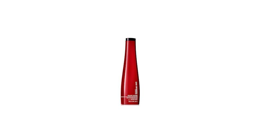 "<p><strong>Shu Uemura</strong></p><p><strong>$49.00</strong></p><p><a href=""https://go.redirectingat.com?id=74968X1596630&url=https%3A%2F%2Fwww.sephora.com%2Fproduct%2Fcolor-lustre-brilliant-glaze-shampoo-for-color-treated-hair-P403936&sref=https%3A%2F%2Fwww.goodhousekeeping.com%2Fbeauty%2Fhair%2Fg3878%2Fbest-shampoo-for-colored-hair%2F"" rel=""nofollow noopener"" target=""_blank"" data-ylk=""slk:Shop Now"" class=""link rapid-noclick-resp"">Shop Now</a></p><p>For a luxe sulfate-free option, check out Shu Uemura's color-protecting shampoo, recommended by O'Connor. ""It has refining lipids in it that help to protect the cortex of hair, where the color goes, so <strong>your shade lasts longer — and hair is left shiny and soft</strong>,"" she explains.</p>"