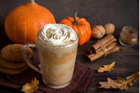 """<p>Yes, Pumpkin Spice season is here, but don't just stop at a Starbucks latte. Try pumpkin <a href=""""https://www.oprahmag.com/life/food/g28099287/fall-cocktails/"""" rel=""""nofollow noopener"""" target=""""_blank"""" data-ylk=""""slk:spice cocktails"""" class=""""link rapid-noclick-resp"""">spice cocktails</a>, <a href=""""https://www.oprahmag.com/life/g28082296/pumpkin-scented-candles/"""" rel=""""nofollow noopener"""" target=""""_blank"""" data-ylk=""""slk:pumpkin candles"""" class=""""link rapid-noclick-resp"""">pumpkin candles</a>, or, naturally, pumpkin pie.</p>"""