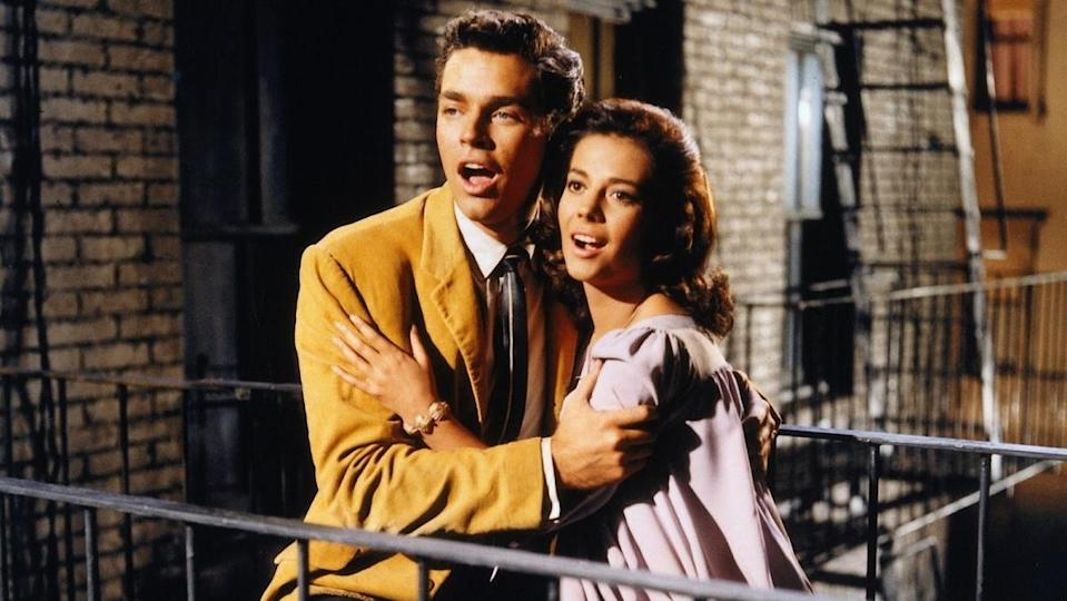 Tony and Maria sing in West Side Story (1961)