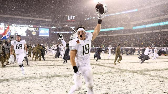 Army and Navy will travel to Philadelphia, Penn. on Saturday, Dec. 8 for the 119th playing of America's game.