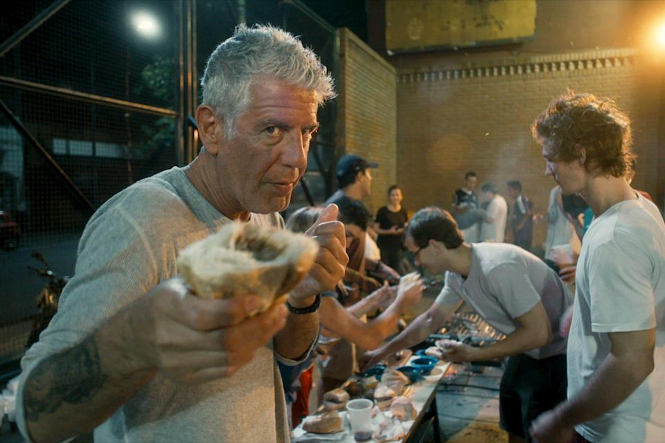 Anthony Bourdain stars in Morgan Neville's documentary, ROADRUNNER, a Focus Features release.