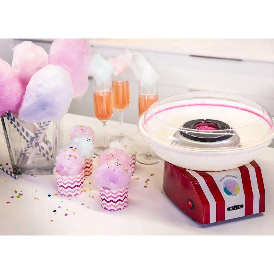 <p>How fun is this <span>Bella Cotton Candy Maker</span> ($24, originally $40)!? It's such a unique find that will bring the carnival goodness right to your home. </p>