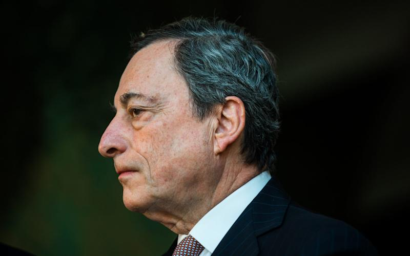 Mario Draghi, president of the European Central Bank - Bloomberg
