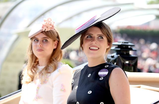 Princess Beatrice of York and Princess Eugenie of York celebrate their birthdays stylishly. (Photo: Getty Images)