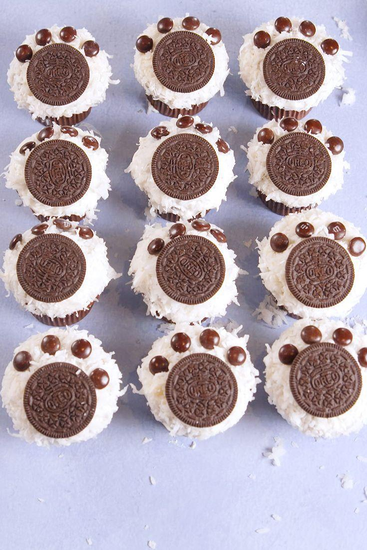"""<p>You'll cry these are so cute.</p><p>Get the recipe from <a href=""""https://www.delish.com/cooking/recipe-ideas/recipes/a56687/polar-bear-paw-cupcakes-recipe/"""" rel=""""nofollow noopener"""" target=""""_blank"""" data-ylk=""""slk:Delish"""" class=""""link rapid-noclick-resp"""">Delish</a>. </p>"""