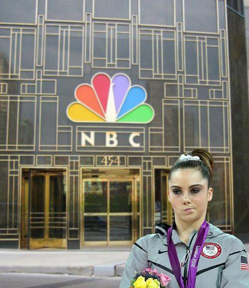 McKayla Maroney is seriously not impressed with NBC.