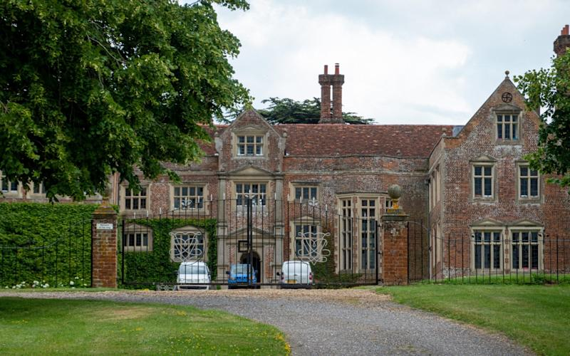 Coldham Hall ,the home of Claudia Schiffer in Suffolk - Bav Media