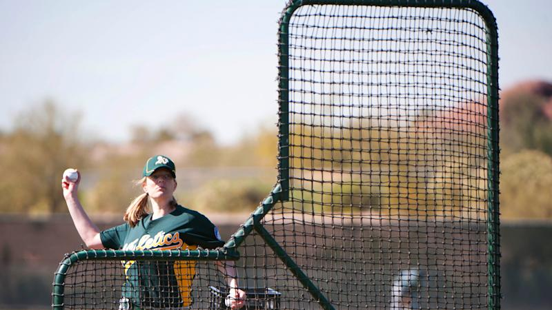 A's team with 'Baseball For All' to inspire girls pursuing careers in baseball
