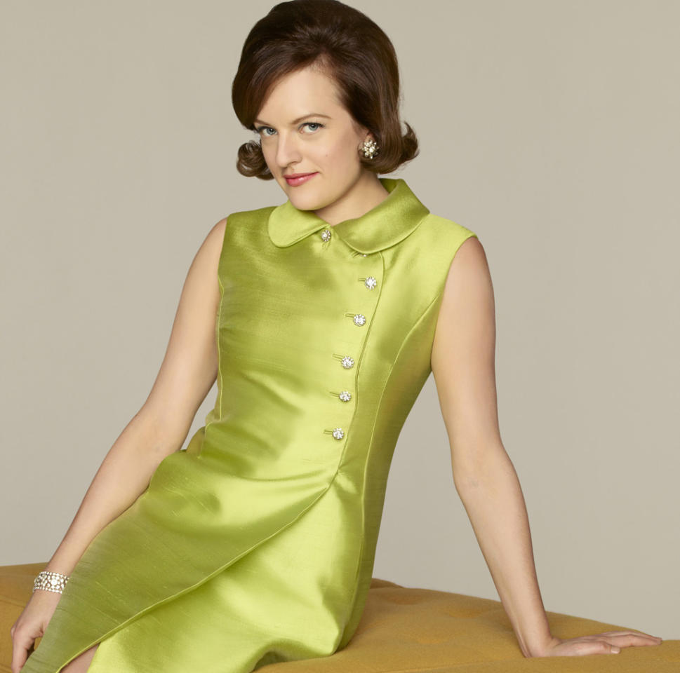 """Outstanding Lead Actress in a Drama Series: Elisabeth Moss, """"Mad Men"""""""