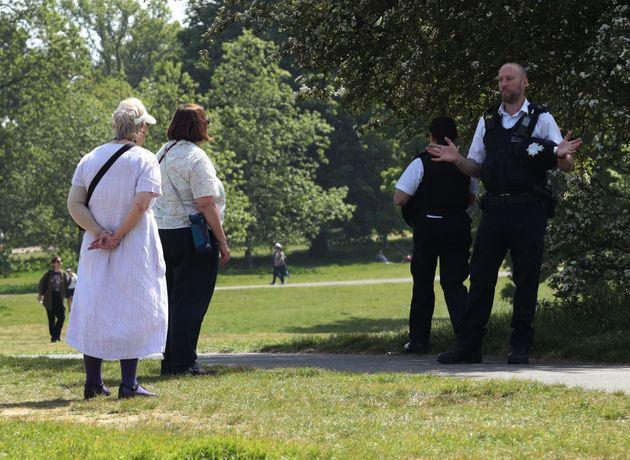 New laws already ban groups of six or more in England, whether gathering inside or out (file picture)