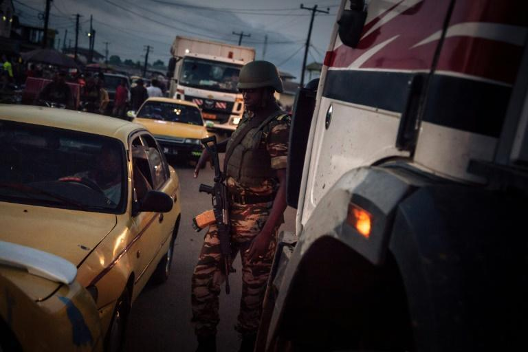 The government has deployed thousands of soldiers to restive separatist regions in western Cameroon