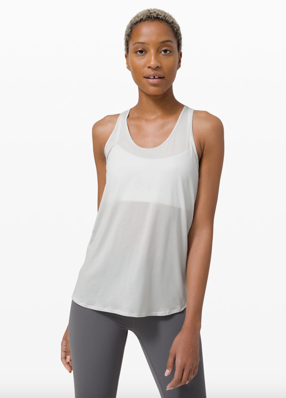 Essential Tank Pleated in vapour