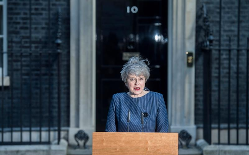 Theresa May, the Prime Minister - Paul Grover