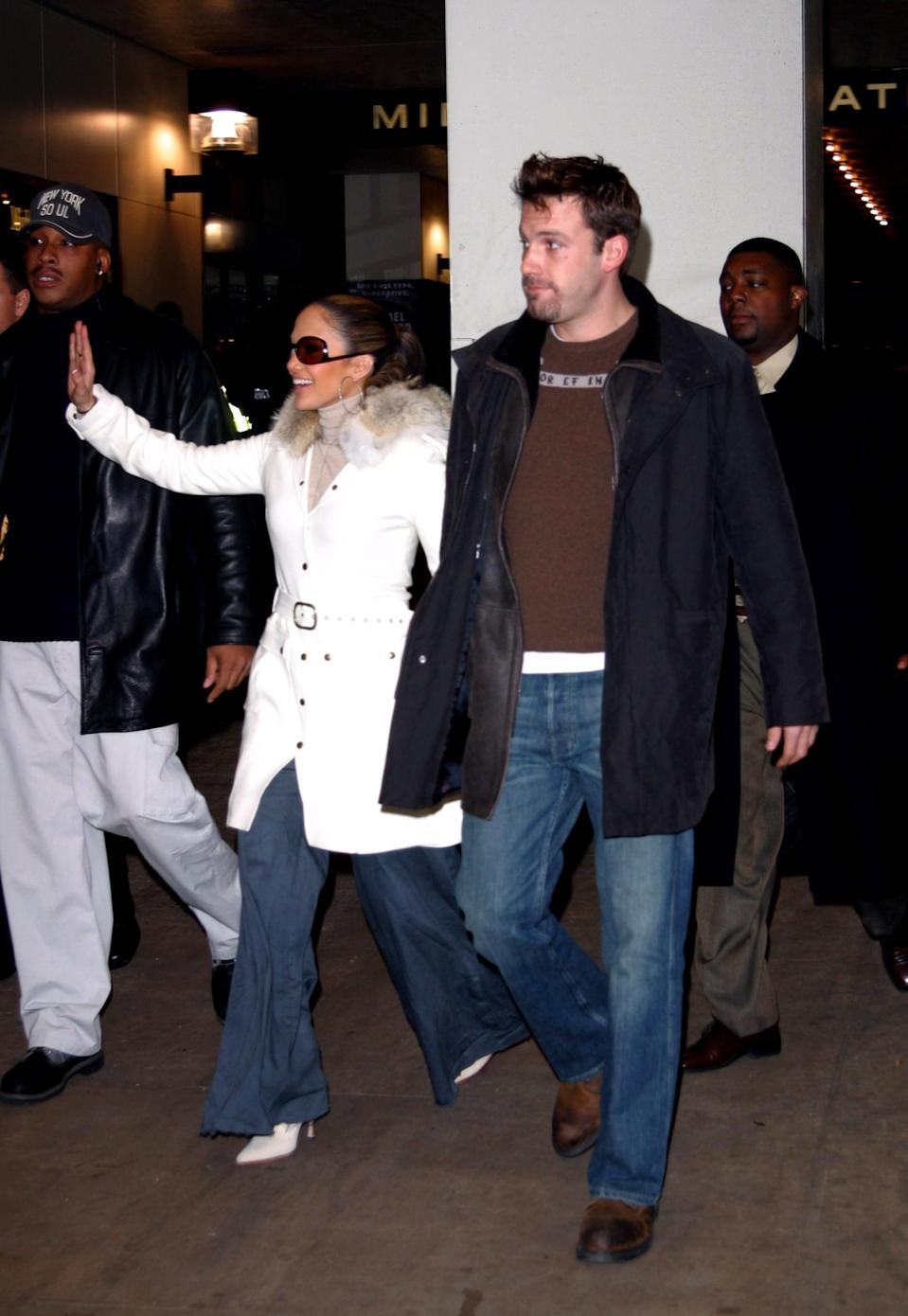 <p>Leaving TRL, Ben and Jennifer are a whole 2002 vibe.</p>