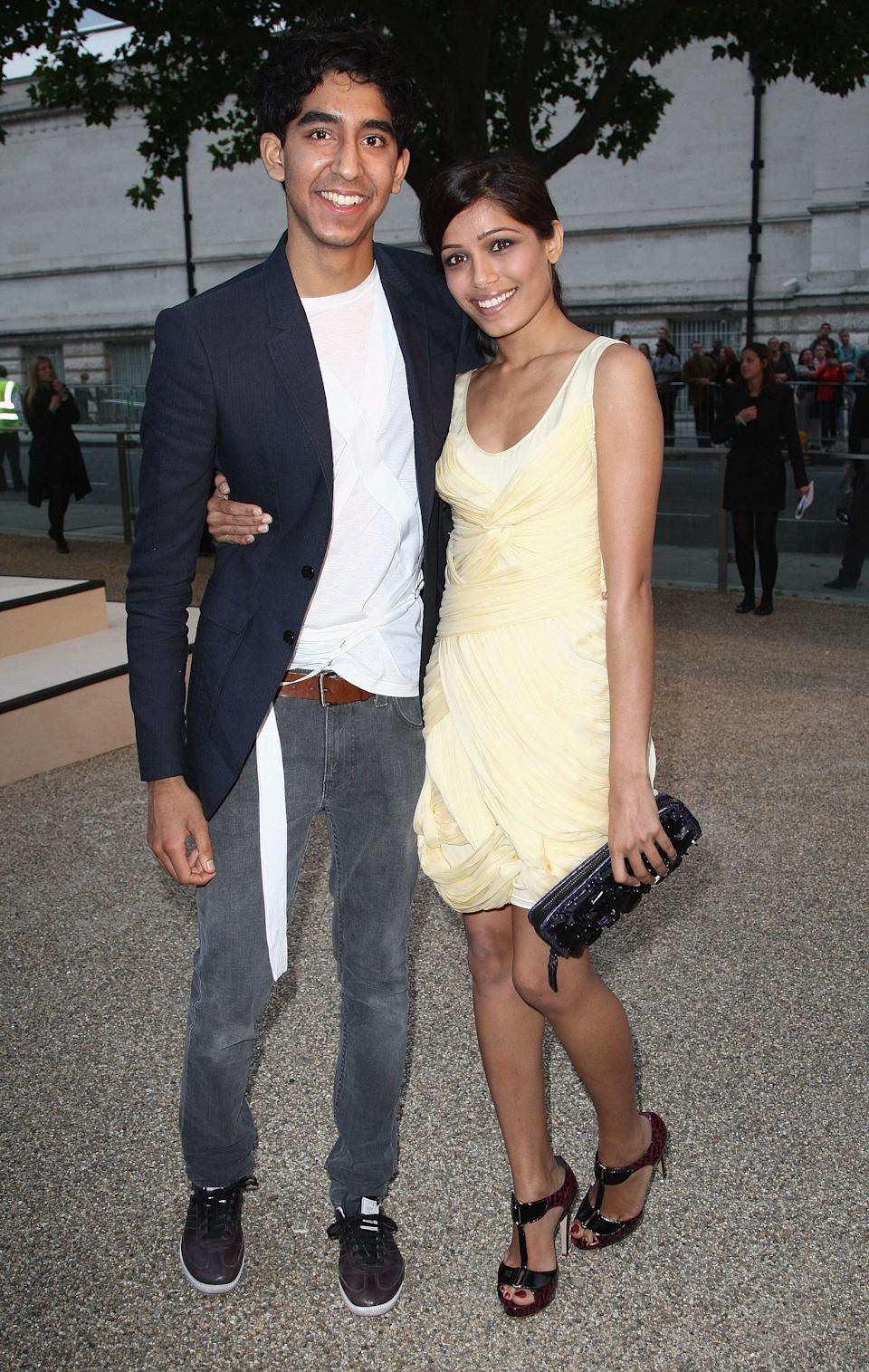 Patel and Pinto at the Burberry Prorsum Spring/Summer 2010 Show at Rootstein Hopkins Parade Ground during London Fashion Week on Sept. 22, 2009.