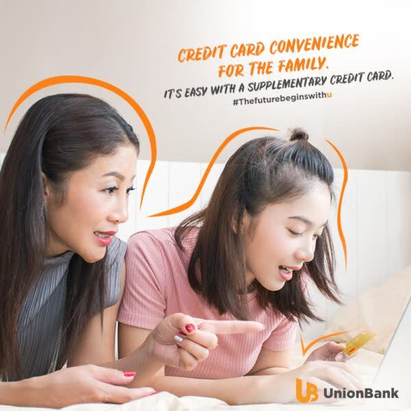 Supplementary Card Unionbank