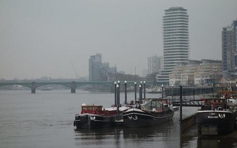 Canal boats on Thames - Credit: Matthew Field/Telegraph