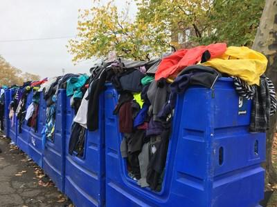Goodwill NYNJ has partnered with the NYC Department of Sanitation and New York Road Runners for 7 years to collect and sell the warm clothing runners leave behind at the starting line.
