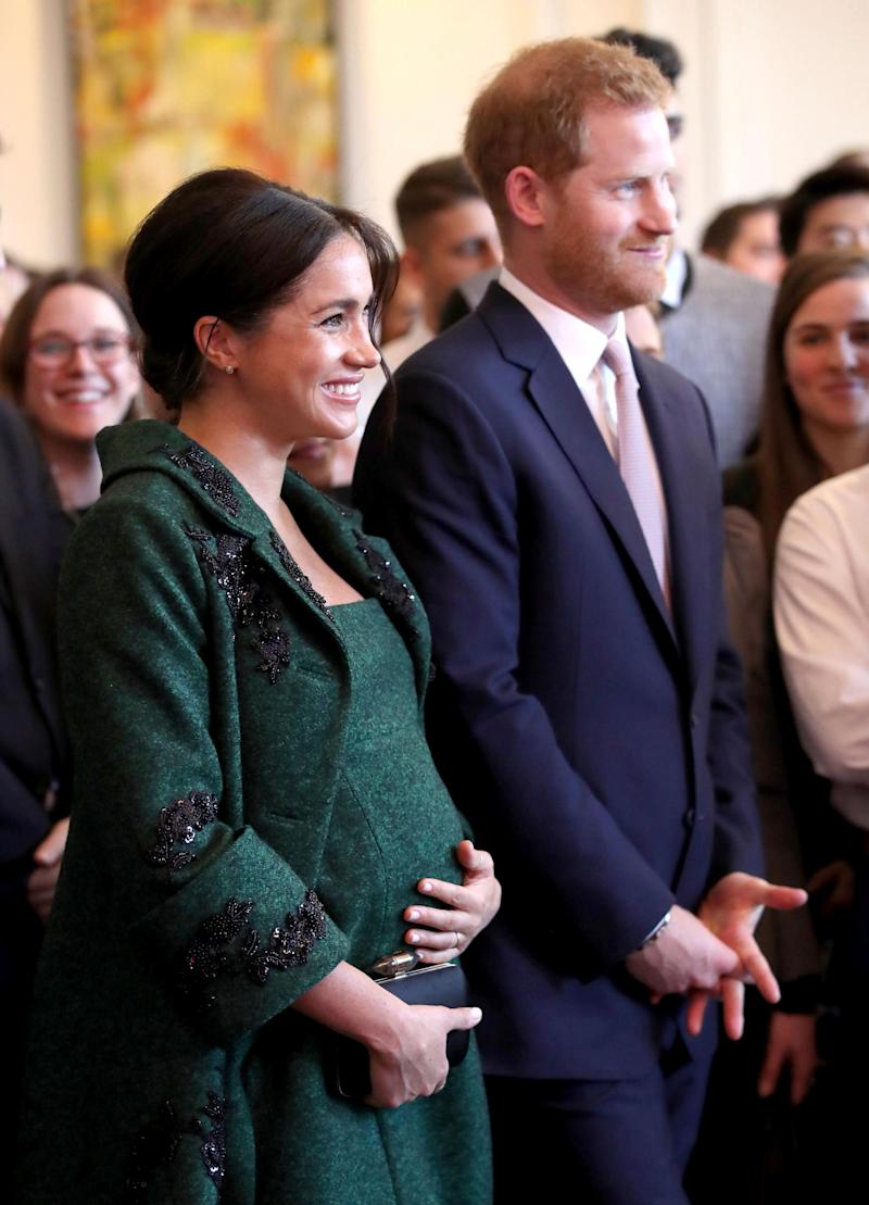Photo by: zz/KGC-375/STAR MAX/IPx 3/11/19 Prince Harry The Duke of Sussex and Meghan The Duchess of Sussex attend a Commonwealth Day Youth Event at Canada House on March 11, 2019 in London. The event will showcase and celebrate the diverse community of young Canadians living in London and throughout the United Kingdom. (London, England, UK)
