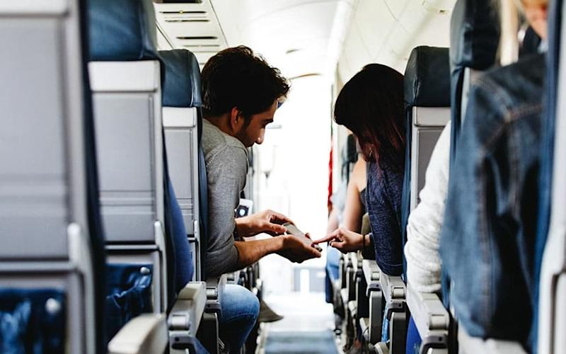 More and more airlines are allowing in-flight connectivity - Iza Habur (Iza Habur (Photographer) - [None]