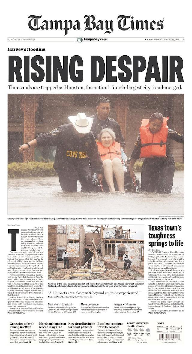 <p>Tampa Bay Times<br> Published in St. Petersburg, Fla. USA. (newseum.org) </p>