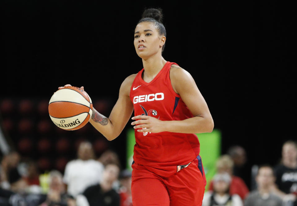 Washington Mystics' Natasha Cloud