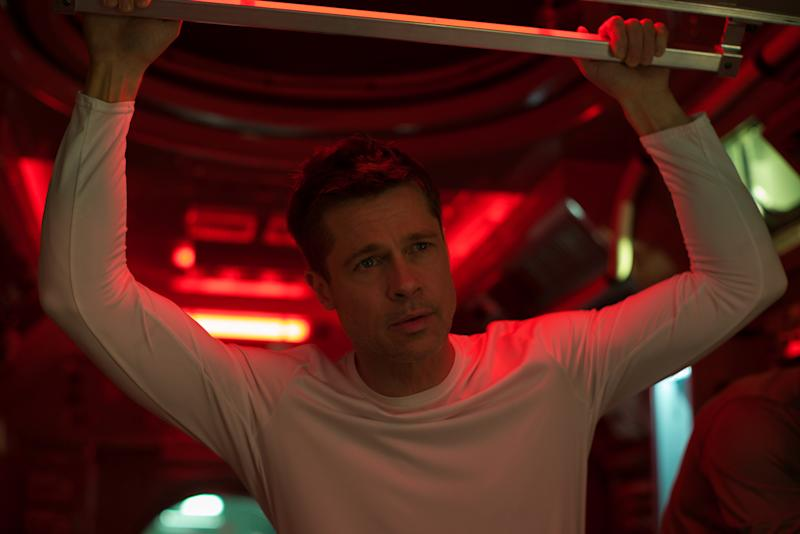 Brad Pitt stars as an astronaut in search of his lost father in 'Ad Astra'. (PHOTO: Walt Disney)