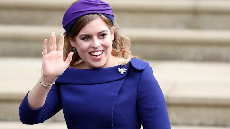 Princess Beatrice ''Reviewing' Wedding Plans Amid Coronavirus Concerns