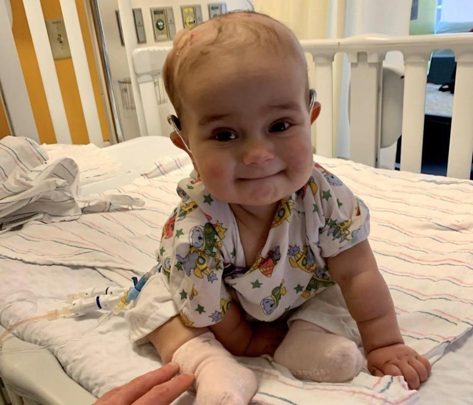 Francesca Kaczynski, daughter of CNN reporter Andrew Kaczynski, died December 24, 2020 of complications from cancer. She was nine months old.
