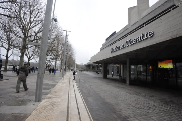 The National Theatre on the Southbank, central London