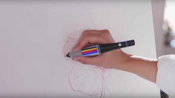 This Crazy Pen Lets You Write And Draw In Any Color You Want